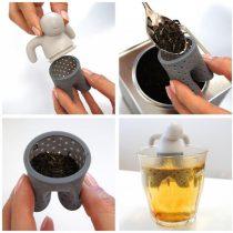 Perfect Home Teafilter szilikon ember alakú 12992