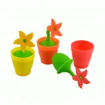 Perfect Home Teafilter szilikon cserepesvirág alakú 12993