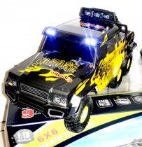 1:18 Wltoys 18629 6 Kerekű 6WD Modell Autó Sziklamászó Rock Crawler Led fény 2.4Ghz Proporcionális
