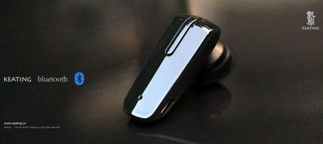 Minőségi KEATING Bluetooth Headset Szivargyújtó töltővel.