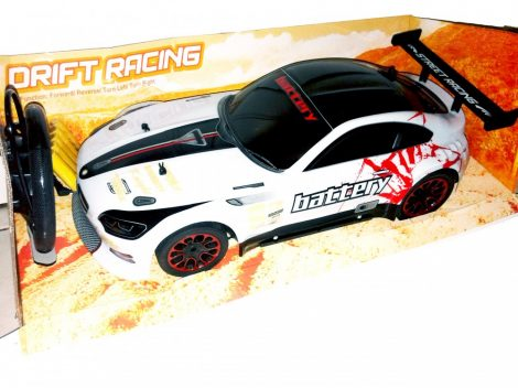Nagy 1:10 Drift Racing Rc Távirányítású BMW 6V Akku Kormány Távirányító
