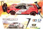 Nagy 1:10 Drift Racing Rc Távirányítású Sportkocsi 6V Akku Kormány Távirányító Piros Ferrari