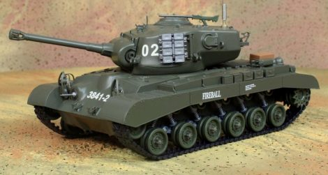 1:16 Heng Long Pro US M26 Pershing Tank Modell 2.4 Ghz 7.4 LiPo Pro Verzió