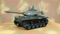 Heng Long 3839-1 2.4G 1/16 US M41A3 Walker Bulldog Könnyűtank Rc Tank 7.4 LiPo Proporcionális Pro Vervzió