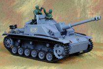 1:16 RC Tank Sturmgeschütz III Heng Long 1:16 2.4 Ghz Pro Verziós Modell Tank 7.4V Lipo Akku Proporcionális
