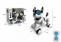Intelligens Távirányítós Robot Kutya (Smart-Dog) pitizik, sétálgat, nyújtózkodik, hason csúszik, és még számos funkcióra képes