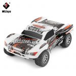 WlToys A969 35 Km/h 1.18 Rc 4WD Monster Truck Pickup Autó 2.4 Ghz Full Proporcionális