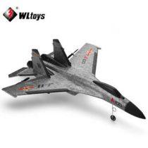 WLTOYS XK A100 - SU27 Vadász Repülőgép Giroszkóppal 2.4G 3CH EPP-Hab RC Repülő RTF