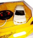 Kormányos SUV Luxus Kisautó BMW 27 Mhz Akkus 3 Újratöltheő Ceruzaelemmel USB Töltővel