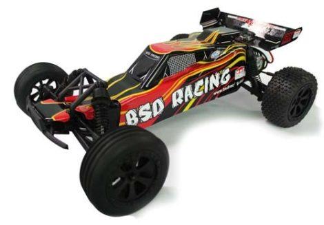 ÚJ 1:10 BSD 2WD RACING 50 KM/H RC BAJA BUGGY MODELL DESERT RACER AUTÓ BS710T