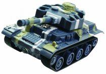 ENKE RC Tigris Mini Tank 1:68 Méretarány 27 mHz Rádió vezérlés Gumi Lánctalp Bólyákkal