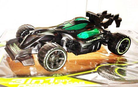 3 az 1 ben Formula Autó Versenyautó Terpjáró 2.4 Ghz Szerelhető Első Hátsó Kerék