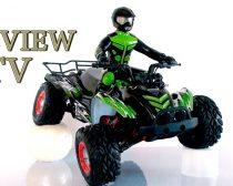 1:10 Rc Kvad Quad ATV Modell Vezető Figurával 35+ Km/h 2.4 GHZ 7.4 LiIon Akku Full Proporcional Feiyue 4WD