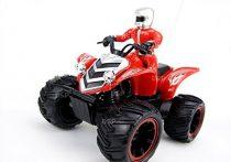 Hb 666 1:12 Rc Kvad Quad ATV Modell Vezető Figurával