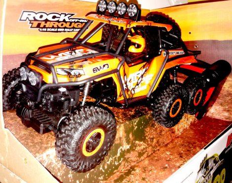 HB 1:16 Hat Kerekű Sziklamászó 6WD Rock Crawler Terepjáró Autó Led Polaris Crawler 6V HB-PY1601 HB-PY1602 HB-PY1603