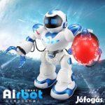 Uj Nagy 40 Cm magas Airbot Intelligens Rc Robot Kézi és Távirányítós Vezérléssel a Kidbe - től