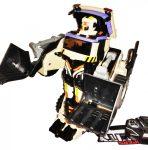 Új Nagy Autobot Kotró Gép Transformer Munkagép Hangvezérléssel