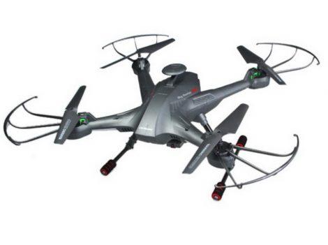 Ls-128 Sky Hunter 5.8 Ghz FPV Élőképes Nagy Drón Monitorral Akció