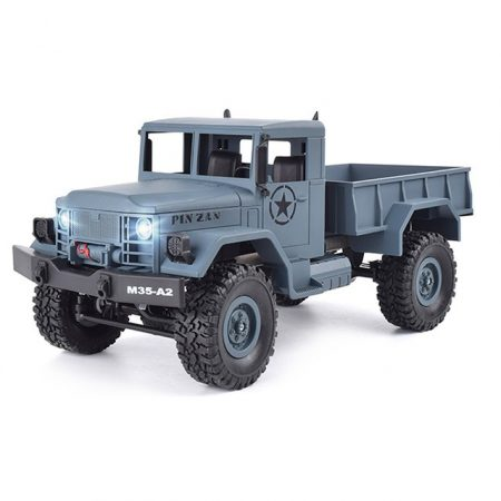 1:16 Rc Amerikai Katonai 4WD Teherautó M35-A2 Modell 2.4Ghz Jó kidolgozás RTR Azonnal használható