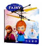 Fairy Új Repülő Tündér Baba Helikopter Akkus USB töltővel