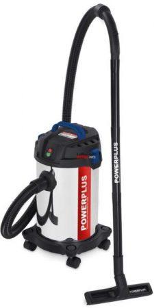 POWERPLUS POW0350 száraz-nedves porszívó 15L