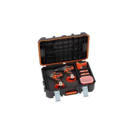 PowerPlus  akkus gépszett fúró-csavarozó/ütvecsavarozó 20V+töltő+2x20V akku+koffer POWDP1551