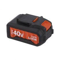 POWDP9035 40 Voltos akkumulátor  DUAL POWER gépekhez