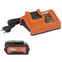 POWDP9065 40 Voltos akkumulátor töltővel DUAL POWER gépekhez