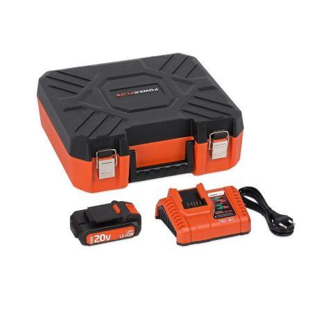 Powdp9066 20V/40V Akkumulátor töltő + 20V LI-ION akkumulátor