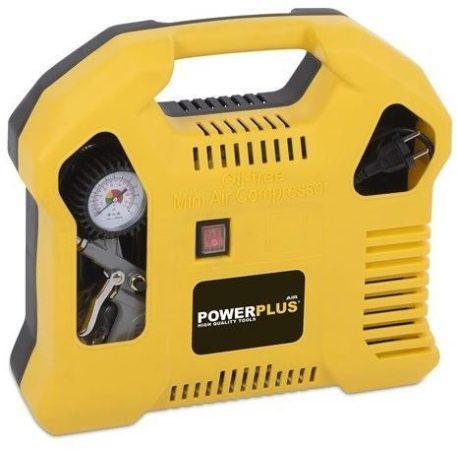 PowerPlus POWX1703 olajmentes kompresszor, 1100W, 8bar