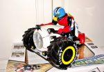 1:10 Rc Távirányítós Trike Motorkerékpár 2.4Ghz 7.2V 15Km/h Vízálló