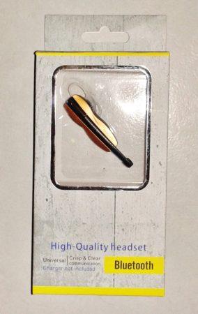 Hegedű Formájú Bluetooth Headset 4.1