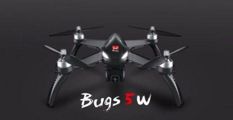 MJX BUGS 5W drón 5G 8MP 1080P Állítható Kamera, GPS, brushless motor, 16 perc repülési idő, 500m hatótáv