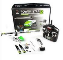 WLTOYS V988 POWER STAR 2 FYBERLESS 4,5CH RC HELIKOPTER