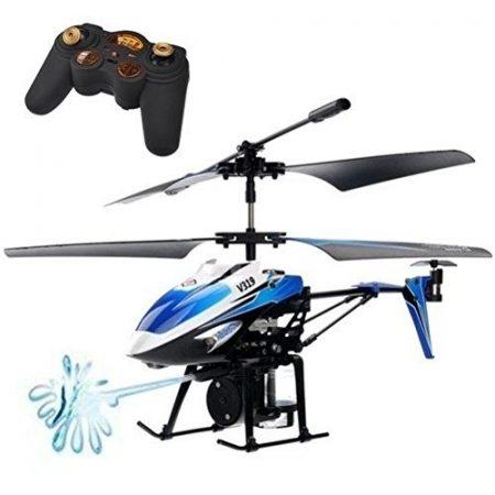 Wltoys V319 RC Távirányítós Víz Spriccelős Helikopter 3.5ch Turbo és Félautomata Funkciókkal