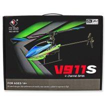 WL-Tech V911S RC Flybarless Rc Helikopter Digitális Giroszkóppal