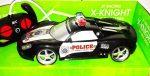1:16 X-Knight Rc Távirányítós Rendőrautó Rendőr Versenyautó Autó Akku Töltő