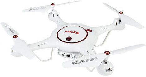 SYMA X5UW - D Drón Drone  KÉZKÖVETÉS MOZGATGATÓ 720P HD KAMERA EGYGOMBOS FEL - ÉS LESZÁLLÁS VISSZATÉRÉS