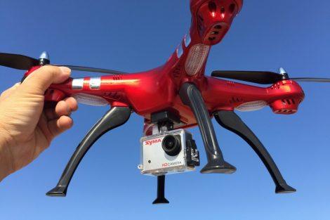SYMA X8HG Drone MAGASSÁGTARTÓS DRÓN FULL HD KAMERÁVAL 5 - 8 MPX