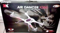 XK AIR DANCER X350 MŰREPÜLŐ 6CH 3D VERSENY DRÓN QUADKOPTER