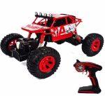 1:12 Zegan Rc Vízálló Sziklamászó Autó Rock Crawler Nagy Kerekek Fém Karosszéria 7.2V 2.4Ghz Töltő Pisztoly távirányító