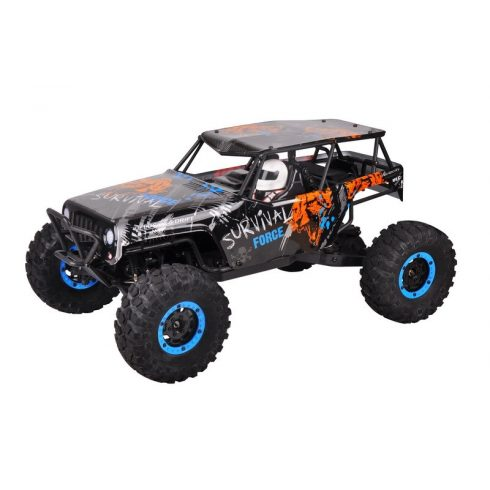 WlToys JEEP 1:10 4WD Trial Sziklamászó Autó Kardánnal 7.4V 2000 mAh Akku 40 Km/h 10428-A2