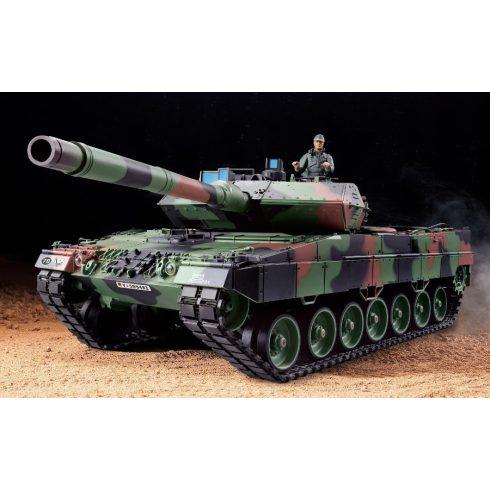 1:16 Heng long Leopard 2 A6 2A6 Tank 2.4 Ghz 7.4V 1800 mAh Akku Proporcionális
