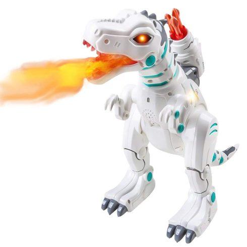 Rc Távirányítós Intelligens Dinoszaurusz Beszél, Jár, Táncol, Füstöt okád, Kis lövedéket tüzel