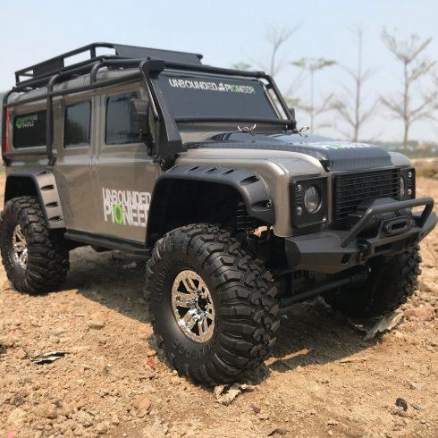 1:10 HB Rc Defender Terepjáró Modell Axiális Felfüggesztéssel LED Fényszóró RTR Proporcionális HB-Zp1001 HB-Zp1002