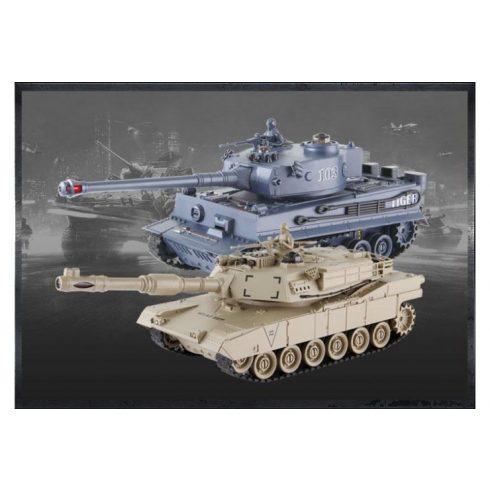 36 Cm 1:28 Zegan VS Tank Szett Tigris az Abrams Ellen Infravörös Tankokkal No99822