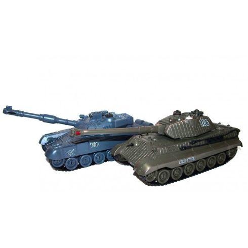 1:28 Király Tigris a T-90 Ellen Vs Tank Tank Csaták szett No99825 36 Centiméter Hosszú