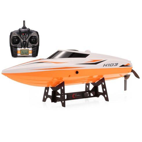 Skytech TKKJ H105 Duplafedeles Rc Hajó 35 Cm 30 Km/H 4Ch 7.4V Akku 2.4 Ghz Versenyhajó Csónak