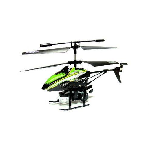 WlToys v757 Buborék Fújó Helikopter 3.5Ch Turbo móddal, és Félautomata Repüléssel